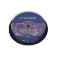 Verbatim DVD+R DL 10Stuks