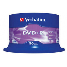 Verbatim DVD+R 50Stuks