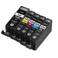 Canon CLI 525 + 3x 526 Compatible