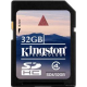 Kingston SD 32GB Class 4