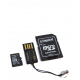 Kingston MicroSD -> USB en SDHC 16GB Class 10